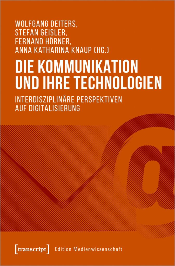 """Buchcover """"Die Kommu nikation und ihre Technologien"""""""